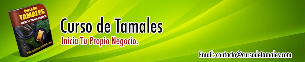 Banner curso de tamales